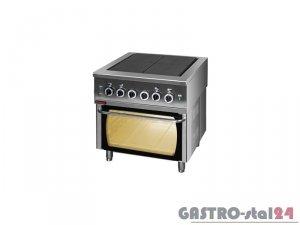 Kuchnia elektryczna z piekarnikiem elektrycznym 000.KEZ-4u/PE-2, 800x750x900