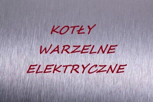 Kotły warzelne elektryczne