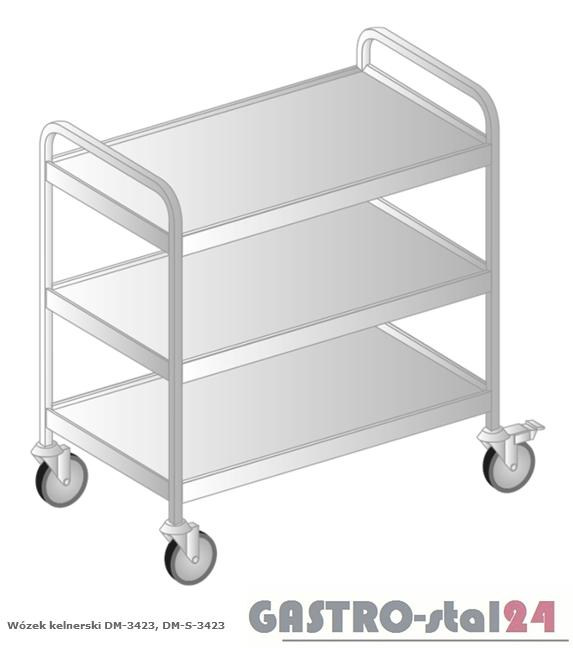 Wózek kelnerski DM-S 3423 szerokość: 585 mm (1085x585x870)