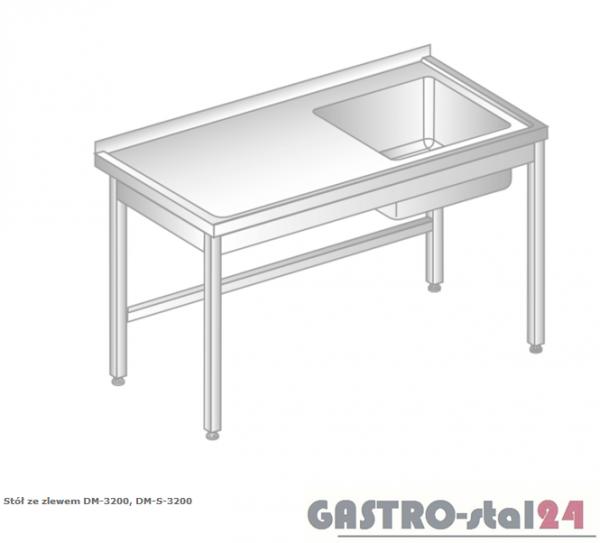 Stół ze zlewem DM 3200 szerokość: 700 mm (600x700x850)