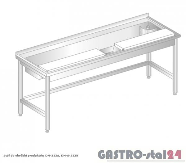 Stół do obróbki produktów DM 3238 szerokość: 700 mm  (1800x700x850)