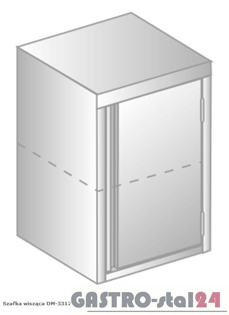 Szafa wisząca DM 3312 szerokość: 400 mm, wysokość: 600 mm (400x400x600)