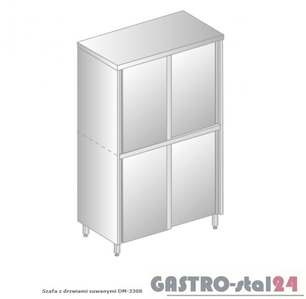 Szafa z drzwiami suwanymi DM 3308.02 szerokość: 500 mm, wysokość: 2000 mm (800x500x2000)