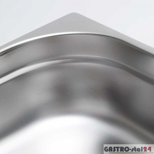 Pojemnik ze stali nierdzewnej GN 1/4 wym. 265x162  H=20 mm
