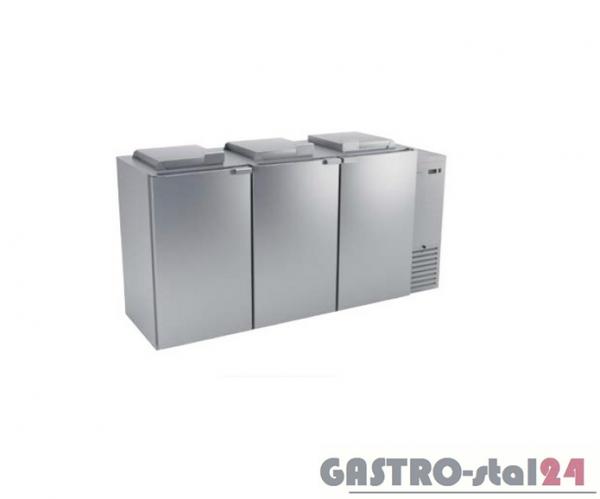 Schładzarka na odpady (z dnem nieizolowanym) BLO-3120 2280x716x1116 3x120 L