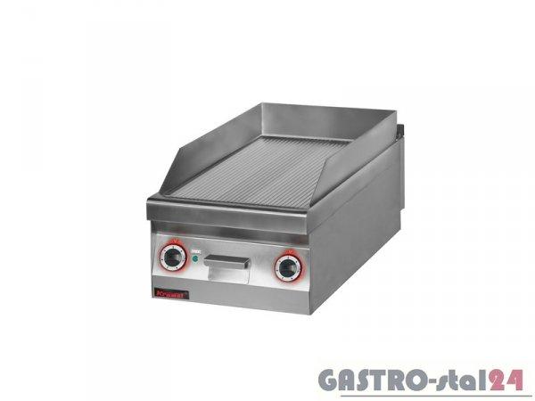 Płyta beztłuszczowego smażenia el. ryflowana chromowana 900.PBE-450R, 450x900x280