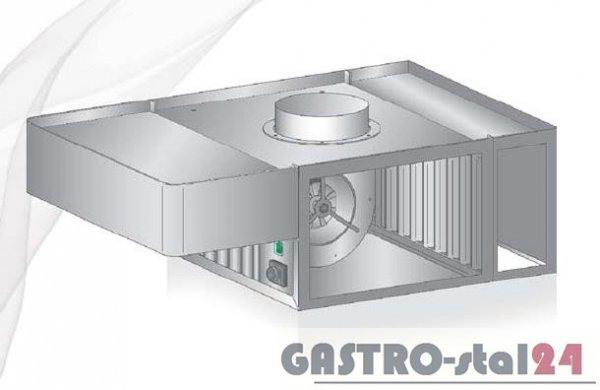 Okap uniwersalny nad piece konwekcyjne i konwekcyjno-parowe DM-S 3629  600x1400x400