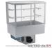 Witryna chłodnicza prosta z roletą DM-94951.4R wym. 1420x614x1429mm