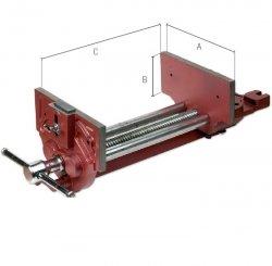 Imadło stolarskie z mechanizmem szybkiego zwalniania śruby PIHER P54005