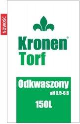 Torf odkwaszony Kronen 200l pH5,5-6