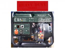 Agregat prądotwórczy DIESEL K&S KS 9000HDE-1/3 [Z SYSTEMEM VTS] 230V / 400V/12 V 3-fazowy 6,8 kW
