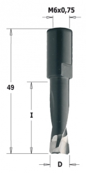 Frez CMT 10 mm do połączeń typu DOMINO do maszyn Festool 380.100.11