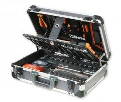 Walizka narzędziowa z zestawem 145 narzędzi BETA 2056E/E-18