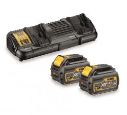 Zestaw Dewalt DCB132T2 Ładowarka DCB132 + 2 akumulatory 6.0Ah DCB546 XR FLEXVOLT 18/54V