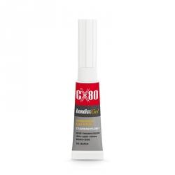 Klej cyjanoakrylowy w żelu CX80 BONDICX GEL  3g