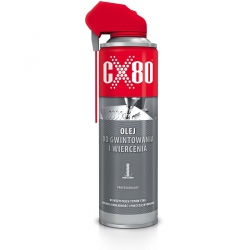 Olej do gwintowania i wiercenia CX80 DUOSPRAY 500ml