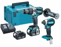 Zestaw combo Makita 2 narzędzia DHP481 DTD153 2x4.0Ah 18V