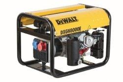 Agregat prądotwórczy DeWalt DXGN 8000E AVR PE652THI00W 6,3 kW 3-fazowy