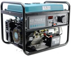 Agregat prądotwórczy benzyna / LPG-E K&S KS7000E G 230 V / 12 V 1-fazowy 5.5 kW