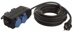 Przedłużacz elektryczny guma SCHWABE 10m x 1,5mm 860602