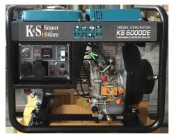 Agregat prądotwórczy DIESEL K&S KS 6000DE 230V / 5.5 kW