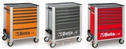 Wózek narzędziowy Beta C24S/7 - 2400S7 + zestaw 197 narzędzi