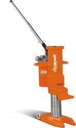 Hydrauliczny podnośnik maszynowy Unicraft HMH 25