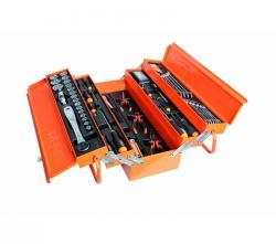 Skrzynka narzędziowa (2120/C20L-E) z zestawem 91 narzędzi BETA EASY 2120L-E/T91-E