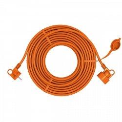 Przedłużacz ogrodowy uniwersalny 2X1,0 H05VV-F (PVC) prosty ACAR EASY 20m