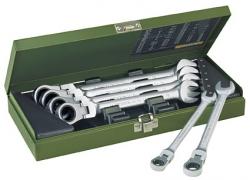 Zestaw kluczy płasko-oczkowych z przegubem 8 -19 mm PROXXON PR23068