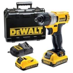 Kompaktowa wkrętarka akumulatorowa DeWalt DCF610D2 XR Li-Ion 10,8V 2x 2.0Ah