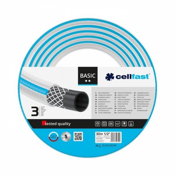 """Wąż ogrodowy Cellfast 10-401 BASIC 1/2"""" 30 m"""