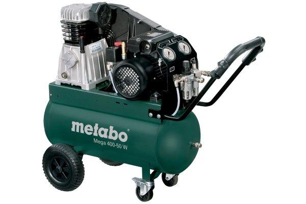 Kompresor sprężarka tłokowa Metabo Mega 400-50 W 601536000