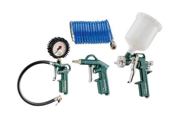 Zestawy narzędzi pneumatycznych Metabo LPZ 4 Set (601585000)