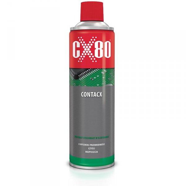 Preparat czyszczący rozpuszczający do elektroniki CX80 CONTACX spray 400ml