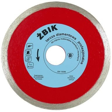 Profesjonalna tarcza diamentowa ŻBIK 350mm
