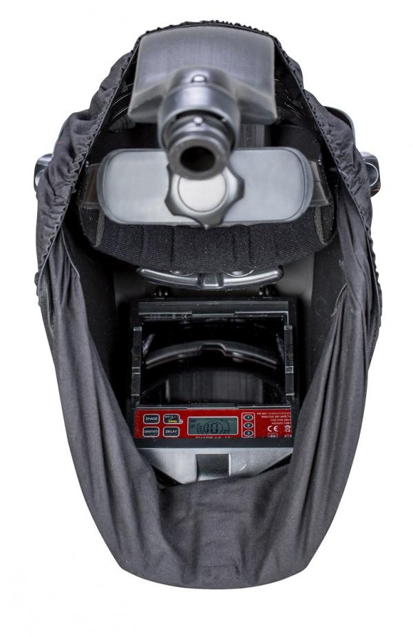 Przyłbica spawalnicza z systemem filtracji powietrza Schweisscraft VarioProtect XXL-W TC AIR