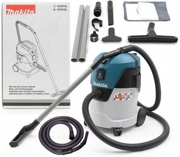 Odkurzacz przemysłowy Makita VC2512L 1000W