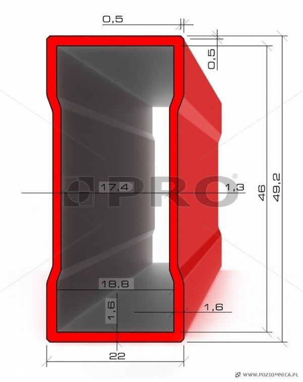Poziomnica PRO 600ENDURANCE  30cm