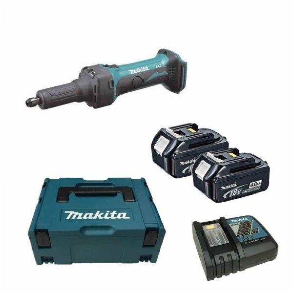 Akumulatorowa szlifierka prosta Makita DGD800RMJ 2x 4.0Ah 18V MAKPAC