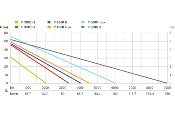 Pompa ogrodowa Metabo P 4500 Inox (600965000)