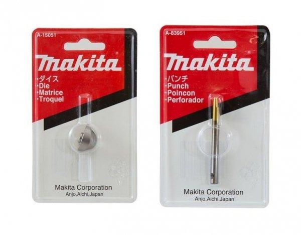 Stempel i matryca Makita do nożyc JN1601