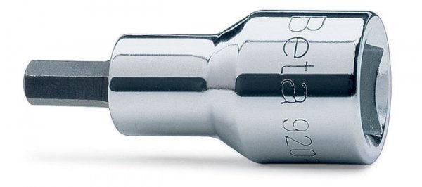 """Nasadka z końcówką trzpieniową sześciokątną BETA, z gniazdem 1/2"""", model 920PE, 19mm"""