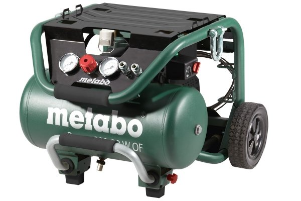 Kompresor sprężarka tłokowa bezolejowa Metabo Power 280-20 W OF 601545000