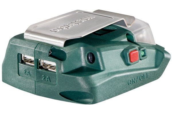 Adapter USB do akumulatorów Metabo PA 14.4-18 LED-USB 14,4-18V 600288000