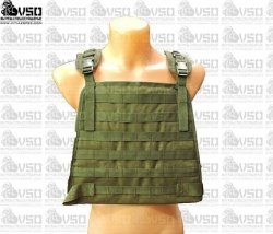 Tactical Army - Plate Carrier Harness - Olive
