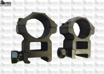 montaż do lunety szyna 21mm/tubus 25mm