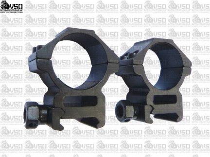 montaż do lunety szyna 21mm/tubus 30mm