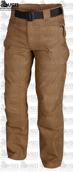 HELIKON URBAN TACTICAL Spodnie PolyCotton Ripstop Mud Brown