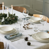 Rosendahl GRAND CRU MOMENTS Świąteczny Talerz Płaski 23 cm Złote Gwiazdki